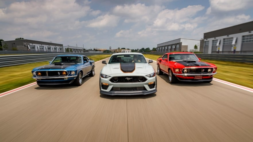 2021 Ford Mustang Mach 1 at Healey Brothers