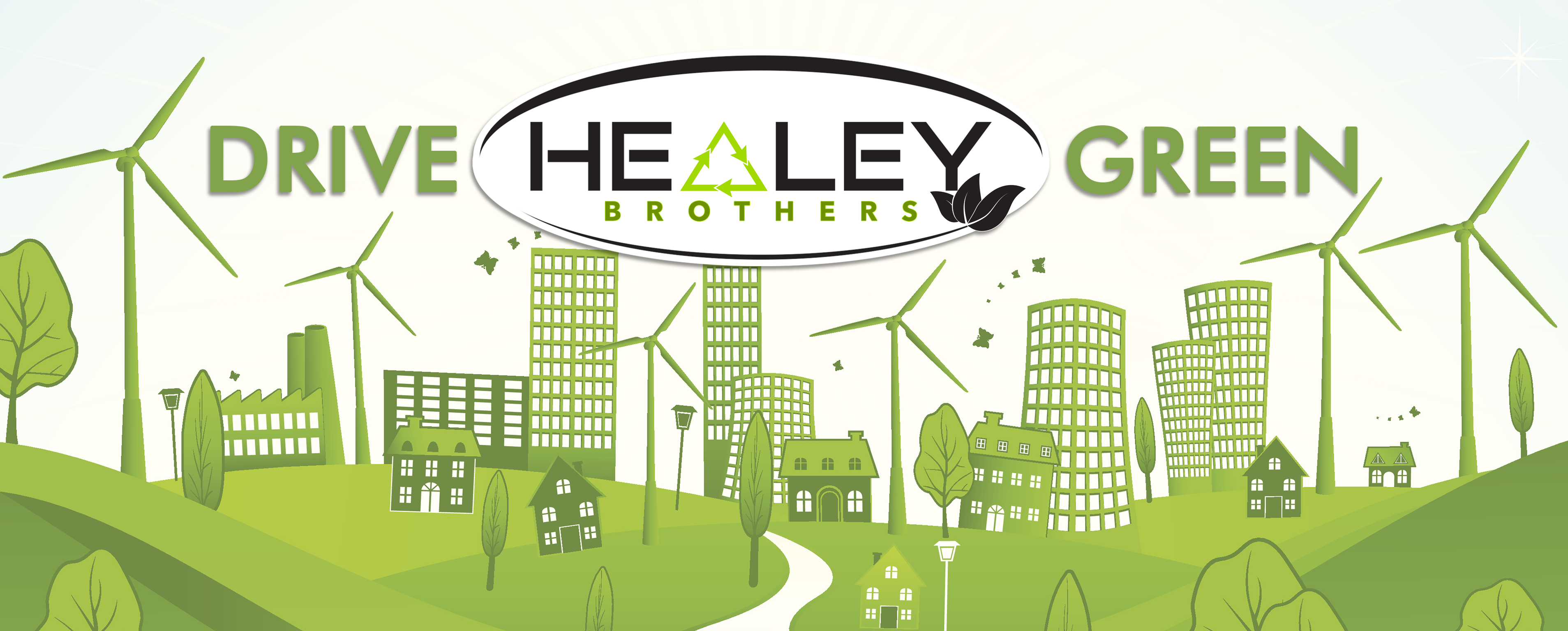 Healey Brothers - DRIVE GREEN
